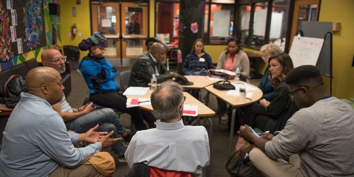 Photograph of a seminar